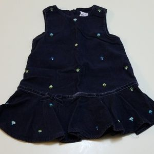 EUC Cute Corduroy Dress